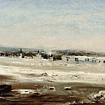 Ice drifting on the Volga, Alexey Kondratievich Savrasov
