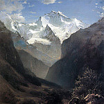 Alexey Kondratievich Savrasov - Type in the Swiss Alps (Mount Small Ruhen). 1862