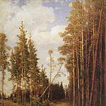 Alexey Kondratievich Savrasov - clearing in the pine forest. 1883