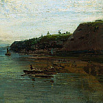 The Volga near the state itself. 1870, Alexey Kondratievich Savrasov