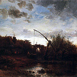 Alexey Kondratievich Savrasov - V well. Around 1868