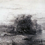 Trees by the River. 1861, Alexey Kondratievich Savrasov