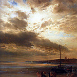 On the Volga. 1875, Alexey Kondratievich Savrasov