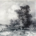 Type Kuntsevo in the village near Moscow. 1855, Alexey Kondratievich Savrasov