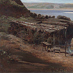Fishermen on the Volga. 1872, Alexey Kondratievich Savrasov