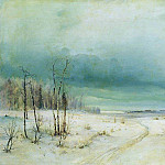 Alexey Kondratievich Savrasov - Winter. Late 1870 - early 1880