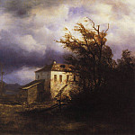 Alexey Kondratievich Savrasov - Before the storm. 1850