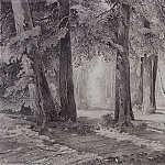 In the Park. 1858, Alexey Kondratievich Savrasov