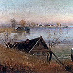 Spring. On the big river. 1880, Alexey Kondratievich Savrasov