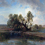 After the storm. 1870, Alexey Kondratievich Savrasov