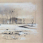 View on the village Pokrovskoe-Fili. 1893, Alexey Kondratievich Savrasov