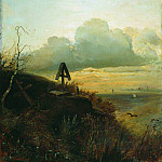 Tomb of the Volga. Environs of Yaroslavl. 1874, Alexey Kondratievich Savrasov