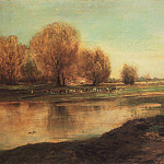 Alexey Kondratievich Savrasov - willows by the pond. 1872