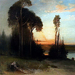Alexey Kondratievich Savrasov - By evening. 1886