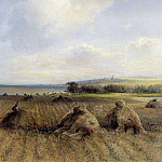 By late summer, on the Volga. 1873, Alexey Kondratievich Savrasov