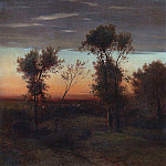 Evening. Late 1860 - early 1870, Alexey Kondratievich Savrasov