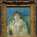 Part 1 National Gallery UK - Berthe Morisot - Girl on a Divan