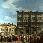 Part 1 National Gallery UK - Canaletto - Venice - The Feast Day of Saint Roch