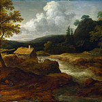 Allart van Everdingen – A Saw-mill by a Torrent, Part 1 National Gallery UK