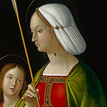 Part 1 National Gallery UK - Antonio de Solario - Saint Ursula (1)