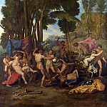 After Nicolas Poussin – The Triumph of Silenus, Part 1 National Gallery UK