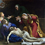 The Dead Christ Mourned (The Three Maries), Annibale Carracci