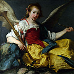 Part 1 National Gallery UK - Bernardo Strozzi - A Personification of Fame