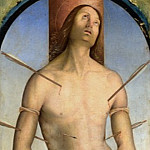 Bernardino Zaganelli – Saint Sebastian, Part 1 National Gallery UK