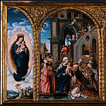 Part 1 National Gallery UK - Circle of Jan Gossaert - The Adoration of the Kings