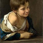 Part 1 National Gallery UK - Bartolome Esteban Murillo - A Peasant Boy leaning on a Sill