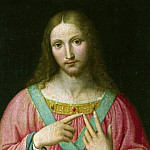 After Bernardino Luini – Christ, Part 1 National Gallery UK