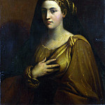 A Female Saint, Dosso Dossi