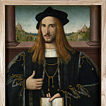 Part 1 National Gallery UK - Bernardino Loschi - Portrait of Alberto Pio