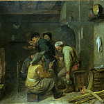 Adriaen Brouwer – Tavern Scene, Part 1 National Gallery UK