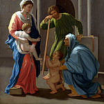 Part 1 National Gallery UK - After Nicolas Poussin - The Holy Family with Saints Elizabeth and John