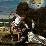 Part 1 National Gallery UK - Bernardino da Asola - The Death of Saint Peter Martyr