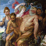 Anthony van Dyck – Drunken Silenus supported by Satyrs, Part 1 National Gallery UK