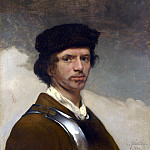 Carel Fabritius – Young Man in a Fur Cap, Part 1 National Gallery UK