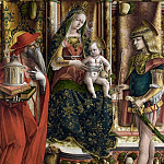 Carlo Crivelli – La Madonna della Rondine , Part 1 National Gallery UK