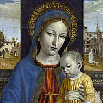 Part 1 National Gallery UK - Ambrogio Bergognone - The Virgin and Child