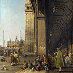 Canaletto – Venice – The Piazza San Marco, Part 1 National Gallery UK
