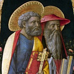 Antonio Vivarini and Giovanni dAlemagna – Saints Peter and Jerome, Part 1 National Gallery UK