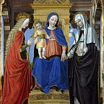 Part 1 National Gallery UK - Ambrogio Bergognone - The Virgin and Child with Saints