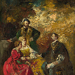 Part 1 National Gallery UK - Adolphe Monticelli - Conversation Piece