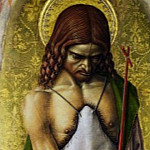 Carlo Crivelli – Saint John the Baptist, Part 1 National Gallery UK