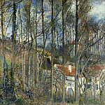 The Cote des Boeufs at LHermitage, Camille Pissarro