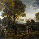 Part 1 National Gallery UK - Aert van der Neer - An Evening View near a Village