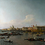 Canaletto – Venice – The Basin of San Marco on Ascension Day, Part 1 National Gallery UK