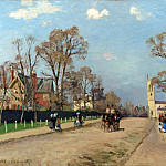 Part 1 National Gallery UK - Camille Pissarro - The Avenue, Sydenham
