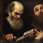 Andrea Sacchi – Saints Anthony Abbot and Francis of Assisi, Part 1 National Gallery UK